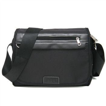 MAKSIM 簡約實用尼龍側背包 / 可放10吋平板(1155黑)