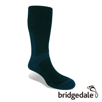 Bridgedale 英國機能襪-SM登峰者 羊毛保暖襪-中厚 海軍藍(M)