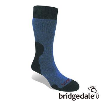 Bridgedale 英國機能襪-SM登峰者 美麗諾保暖-厚女(SB風暴藍)S
