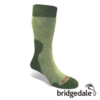 Bridgedale 英國機能襪-SM登峰者 美麗諾保暖-厚女(橄欖綠)S