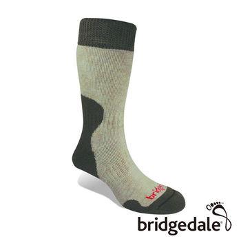 Bridgedale 英國機能襪-SM登峰者 美麗諾保暖-厚女(淺棕)S