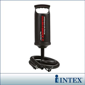 【INTEX】手壓充氣幫浦/打氣筒-高36cm (68614)