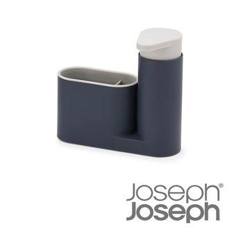 《Joseph Joseph英國創意餐廚》流理台清潔收納小幫手兩件組(灰)-85090