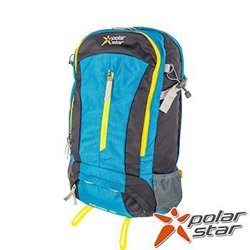 PolarStar 專業登山背包|透氣網架背包 40L (附背包防水套)『藍』 P15806
