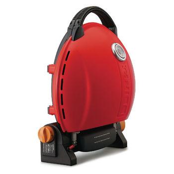 O-Grill 3500T型 美式時尚可攜式瓦斯烤肉爐-熱情紅