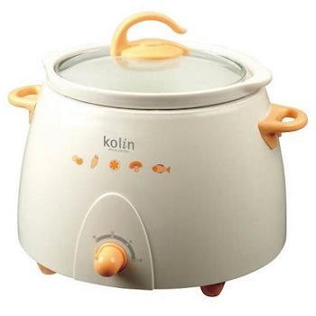 (福利品) 【Kolin歌林】3公升陶瓷燉鍋 KNJA-LN3001 / 燉煮專用
