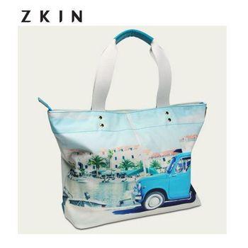 【ZKIN】Muckie   真皮精品時尚包  手提包(Z4843)