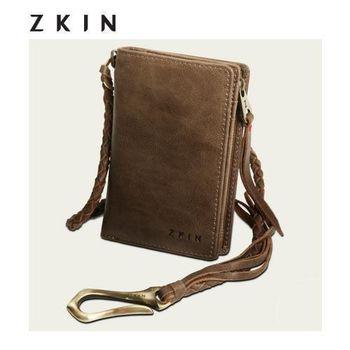 『ZKIN』Trauco 系列  真皮精品時尚 皮夾包