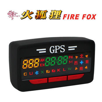 【火狐狸】GPS-A3 Plus 衛星定位行車警示器 (入門版)