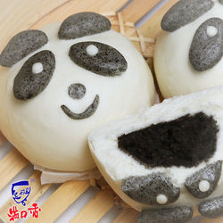 滿口香開心熊貓包/芝麻餡(一組兩包,共20顆)