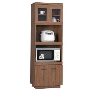 【顛覆設計】堤比2x6尺柚木色餐櫃