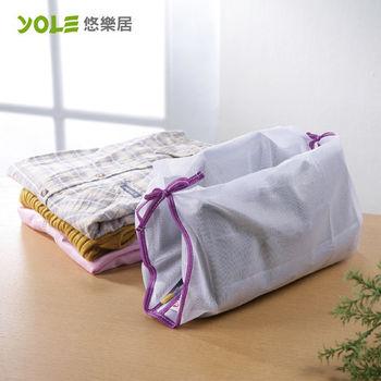 【YOLE悠樂居】綁帶襯衫洗衣袋#1229009(4入)