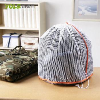 【YOLE悠樂居】束口錐型洗衣袋-大#1229007(4入)