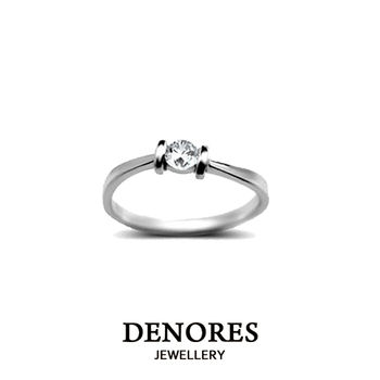 DENORES 璀璨星空10分天然真鑽戒指(女)