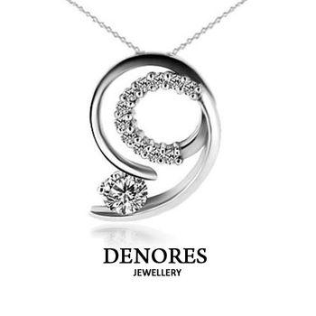 DENORES 絢爛之星0.30克拉八心八箭美鑽鍊