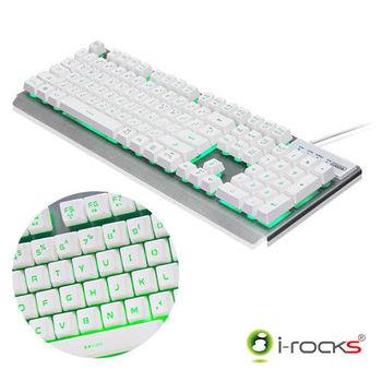 i-Rocks K62E多色彩金屬背光遊戲鍵盤