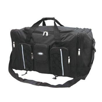 超大型戶外收納袋,前3個口袋,側面2口袋, 洞口中空開,比左右拉鏈開好用太多了,超強收納