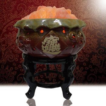【好運到】招財進寶鹽燈(含座)(B1)