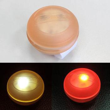 【DOSUN】Macaron (RDe80) 馬卡龍造型前後共用多功能警示燈/台灣製-焦糖棕