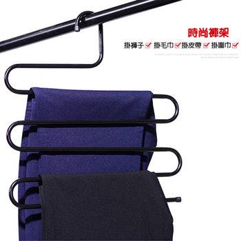 【買達人】多功能U型魔術褲架-12入
