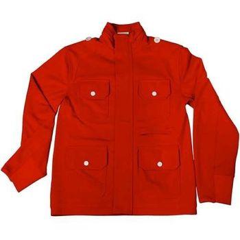 美國LA設計品牌【Suvnir】紅色立領外套