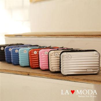 La Moda 商務艙專屬旅遊外出必備迷你行李箱造型過夜包多功能包(8色)