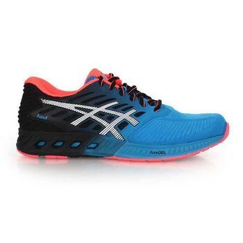 【ASICS】FUZEX 男慢跑鞋- 路跑 亞瑟士 藍黑