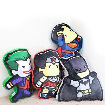 蝙蝠俠對超人 系列抱枕 (4款任選)