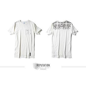 REPUTAIOTN- MA-1口袋變形蟲TEE