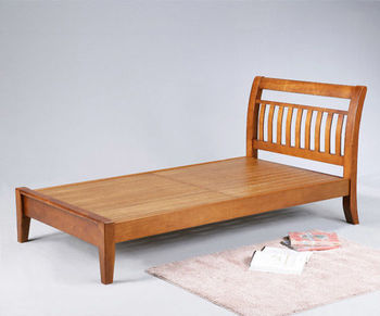 BuyJM曼尼3.5呎實木加大單人床(3.5*6.2呎)