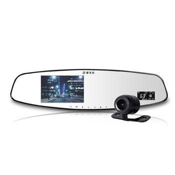響尾蛇 MTR-990 雙鏡頭 GPS測速 後視鏡 行車紀錄器  (送32GC10記憶卡+免費基本安裝)