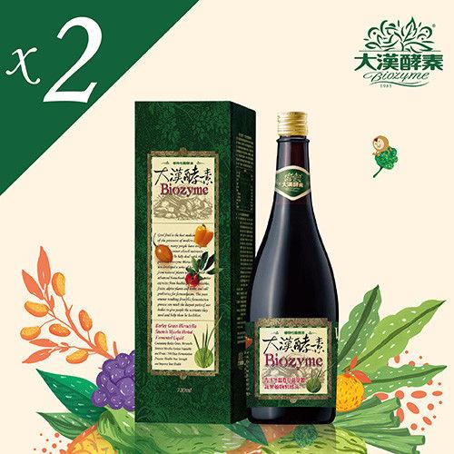 【大漢酵素】青汁冬蟲夏草菌絲體蔬果植物醱酵液 (720mlx2瓶)