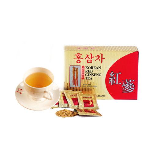 金蔘-6年根韓國高麗紅蔘茶(50包/盒 共2盒)
