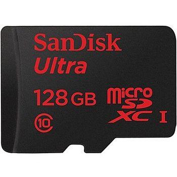 SanDisk 128GB【80MB/s】 Mobile Ultra microSDXC UHS-I C10 記憶卡-公司貨