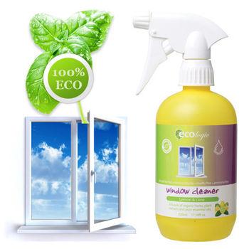 澳洲原裝 Ecologic天然檸檬萊姆窗戶玻璃清潔劑 520ml (有機配方)
