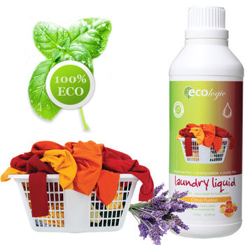澳洲原裝 Ecologic天然橙橘洗衣精 1000ml (有機配方)