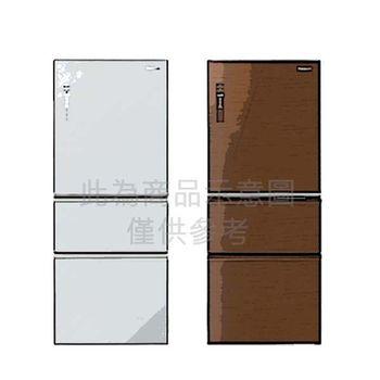 ★贈好禮★『Panasonic』 ☆ 國際牌 500L玻璃無邊框三門冰箱 NR-C508NHG