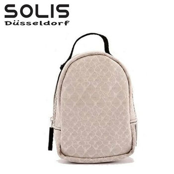 〔SOLIS〕50週年紀念小掛包.活力饗宴《卡其》