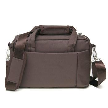 MAKSIM 極簡有型12吋筆電公事包側背包(1166咖)