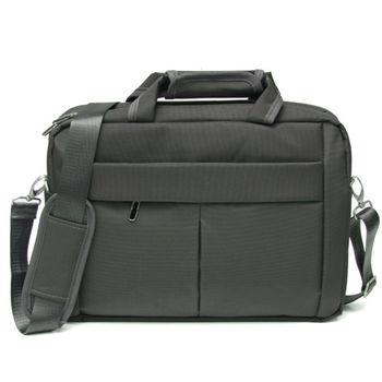 MAKSIM 型男商務休閒14吋筆電包側背公事包(1163灰)