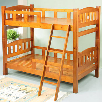 BuyJM歐尼爾3.5呎單人加大實木雙層床