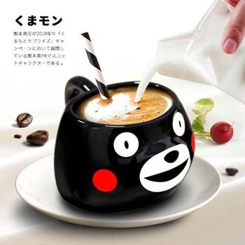 熊本熊 立體造型陶瓷馬克杯