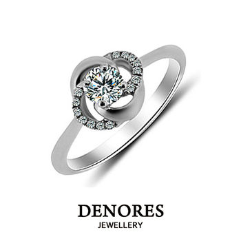 DENORES Excellence GIA D/0.50克拉鑽戒