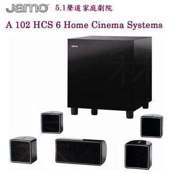 【JAMO】5.1聲道 家庭劇院(A 102 HCS 6)