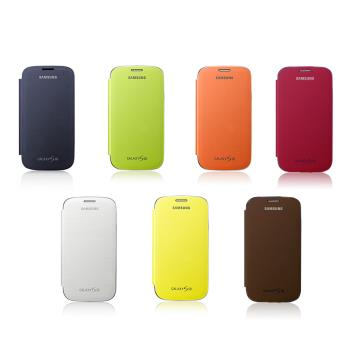 SAMSUNG GALAXY S3 原廠炫彩側掀式皮套(盒裝)