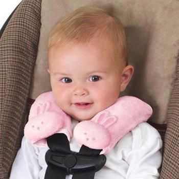 【美國Summer Infant】寶寶肩頸保護枕(粉紅)