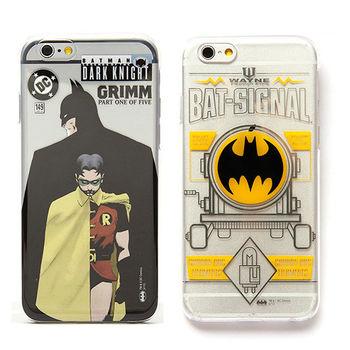 86Hero DC 蝙蝠俠 iPhone6 4.7吋 透明硬式保護殼