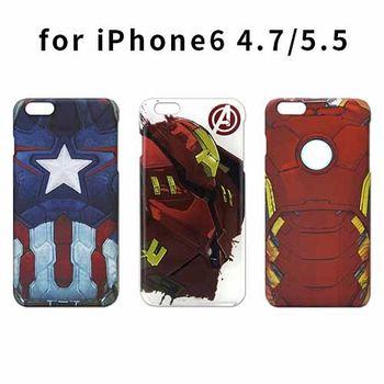86Hero Marvel英雄 iPhone6 4.7吋/5.5吋 霧面硬式保護殼