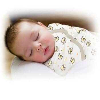 【美國Summer Infant】聰明懶人育兒包巾-香蕉小猴(加大)