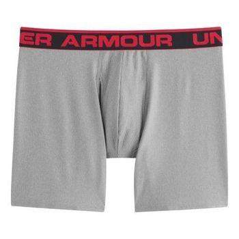 (預購)Under Armour 2016男時尚舒適灰色彈力四角修飾內褲